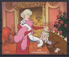 2250   WALT DISNEY  - GRENADA  GRENADINES  ( The Aristocats 1970 ) - Disney