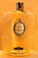 FLACON BOUTEILLE VIDE EAU DE COLOGNE CHYPRE SAUZE PARIS 80° UN VERITABLE PARFUM SAUZE PARIS 7 MADE IN FRANCE - Bottles (empty)