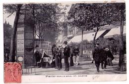 1989 - Paris ( IIIe & Xe ) - Sur Le Boulevar Saint-Martin - - Arrondissement: 20
