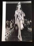 Photo A F P Miss France1983 Dechue De  Son Titre Pour Avoir Posé Devetue & En Lingerie Transparante - Pin-up