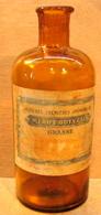FLACON BOUTEILLE VIDE ETIQUETTE MERO & BOYVEAU BENARD & MONNORAT SUCCrs GRASSE MATIERES PREMIERES AROMATIQUES - Bottles (empty)