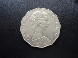 AUSTRALIE : 50 CENTS  1969  KM 68   SUP - Monnaie Décimale (1966-...)