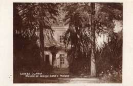 V15471 Cpa 36 Nohant Maison De George Sand - Santa Olaria - Frankreich