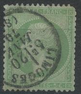 Lot N°43547   N°20, Oblit Cachet à Date De Limoges, Haute-Vienne (81) - 1862 Napoléon III.