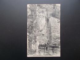 CONTREBANDE AUX ECHELLES DE LA MORT (Doubs) 1925 - Dogana