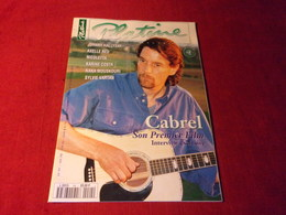 PLATINE  FRANCIS CABREL OCTOBRE 1995 - Muziek