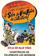 4EME SALON DU VIEUX PAPIER DE COLLECTION/VILLENEUVE LEZ AVIGNON/29 ET 30/04/1984 (dil379) - Expositions