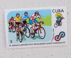 CUBA Vélo Cycliste Cyclisme Bicycle Cycling Fahrrad Radfahrer Bicicleta Ciclista Ciclism, 1 Veleur 1991 ** MNH - Wielrennen