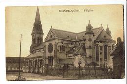 CPA - Carte Postale - France -Blendecques Son Eglise - 1933 - S866 - Longuenesse