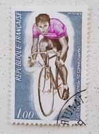 FRANCE Vélo Cycliste Cyclisme Bicycle Cycling Fahrrad Radfahrer Bicicleta Ciclista Ciclism, Yvert 1724 Oblitere - Wielrennen