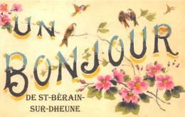 71 - SAONE ET LOIRE / Fantaisie Moderne - CPM - Format 9 X 14 Cm - 715603 - Saint Bérain Sur Dheune - Sonstige Gemeinden