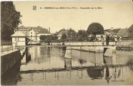 21 - Mirebeau Sur Bèze - Passerelle Sur La Bèze - Mirebeau