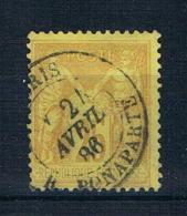 Frankreich 1879 Mi.Nr. 78 Gestempelt - 1876-1898 Sage (Type II)
