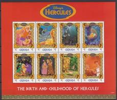 2254   WALT DISNEY  - GRENADA  ( HERCULES  TRIUMPHANT )  Hadés - Pégase . - Disney