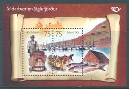 ISLAND - MNH/*** LUXE - 2010 - NORDEN FISHING - Yv BLOC 50 - Lot 17281 - Blocs-feuillets
