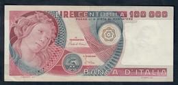 100000 LIRE Primavera Di Botticelli 10 05 1982 Spl LOTTO 1652 - [ 2] 1946-… : Républic