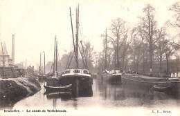 Bruxelles - Le Canal De Willebroeck (péniche, Animée, L L ) - Maritiem