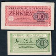 GERMANIA ALEMANIA GERMANY 1+10 REICHSMARK 1944 Lotto 1718 - Zonder Classificatie