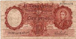 ARGENTINA 100 PESOS 1957 P-272 - Argentina