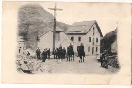 ** Pas D'indication Certainement Pyrénées -  Village Croix - Cavaliers  - Précurseur Neuf - TTBE - - Postales