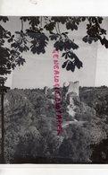 23 - CHATEAU DE CROZANT - RARE PHOTO ORIGINALE STUDIO PIERRE DAM LIMOGES - Lieux