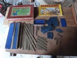 Pièces Vrac MECCANO Avec Une Boite 5A  Et  Notice 5A  (poids Avant Emballage = 1320g) - Meccano