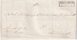 PRUSSE 1869  LETTRE DE ZERPENSCHLEUSE - Preussen