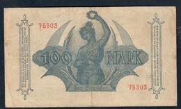 GERMANIA ALEMANIA GERMANY Notgeld Munchen 100 Mark 1922 Lotto 085 - [ 3] 1918-1933: Weimarrepubliek