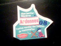 Magnet Le Gaulois, Nouvelle Carte, Ardennes 08 - Tourism
