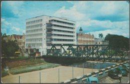 Loke Yew And Selangor Co-operative Buildings, Kuala Lumpur, Malaya, 1956 - Malayan Color Views Postcard - Malaysia