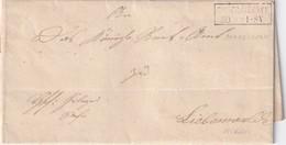 PRUSSE  1860 LETTRE DE GROSSSCHOENEBECK - Preussen