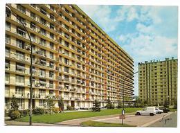 Cpm 9314854 épinay Sur Seine Résidence Des Presles Maupas (renault 4l Fourgonnette) - France
