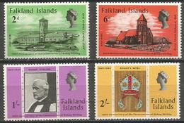 Falkland Islands - 1969 Bishop Stirling MLH *  SG 250-3  Sc 184-7 - Falklandeilanden