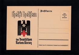PK Deutsches Reich - Rotes Kreuz Ca. 1933 Mit Umschlagshülle - Rode Kruis
