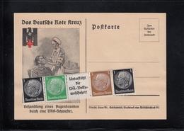 PK Deutsches Reich - Rotes Kreuz Ca. 1933 Mit Umschlagshülle - Siehe 2 Scan - Rotes Kreuz