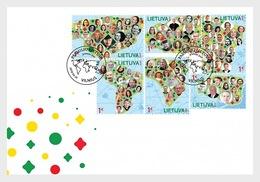 Litouwen / Lithuania - Postfris/MNH - FDC Lithuania In The World 2018 - Litouwen
