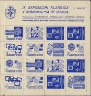 Ref. 575411 * NEW *  - SPAIN Vignettes . 1958. IX EXPOSICION FILATELICA Y NUMISMATICA DE GRACIA - Variétés & Curiosités