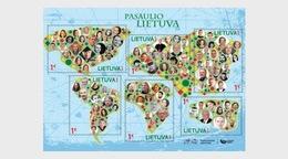 Litouwen / Lithuania - Postfris/MNH - Sheet Lithuania In The World 2018 - Lithuania