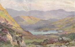 AP71 Killarney, Upper Lake, Above Gap Of Dunloe - Tuck Oilette - Kerry