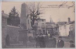 VANDOEUVRE-LES-NANCY (Meurthe-et-Moselle) - Inauguration Du Monument Des Morts De La Grande Guerre Le 2 Janvier 1921 - Vandoeuvre Les Nancy