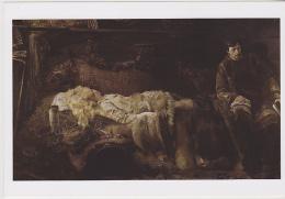 Postcard - Art - Jacek Malczewski (1854-1929) - The Death Of Elenai (1883) - VG - Postales