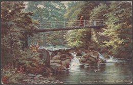 Llandewi-r-Cwm Bridge, Builth Wells, Breconshire, 1913 - Tuck's Oilette Postcard - Breconshire