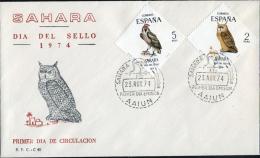 Ref. 238905 * NEW *  - SPANISH SAHARA . 1974. STAMP DAY. DIA DEL SELLO - Spanish Sahara