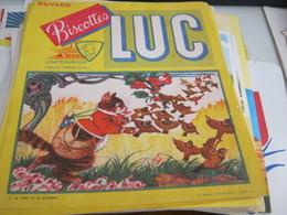 BUVARD PUBBLICITARIA BISCOTTES LUC - Biscottes