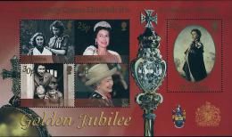 Ref. 88307 * NEW *  - ST. HELENA . 2002. 50th ANNIVERSARY OF ELIZABETH II'S ACCESSION. 50 ANIVERSARIO DEL ACCESO AL TRON - Isla Sta Helena