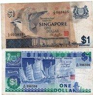 SINGAPORE 1 DOLLAR 1976,87 P-9,18 - Singapour