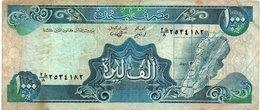 LIBANON 1000 LIVRES 1988 P-69 - Libano