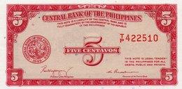 FILIPPINE 5 CENTAVOS 1949 P-126-UNC - Filippine