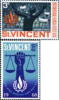 Ref. 360019 * NEW *  - ST. VINCENT . 1968. HUMAN RIGHTS. DERECHOS HUMANOS - St.Vincent (1979-...)