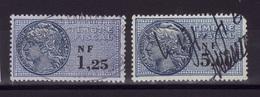 FISCAUX Lot 1960-62  F516 - Fiscaux